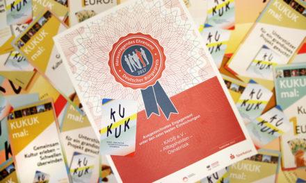 """KAOS e.V. unter den Top 10 des """"Deutschen Bürgerpreises"""""""