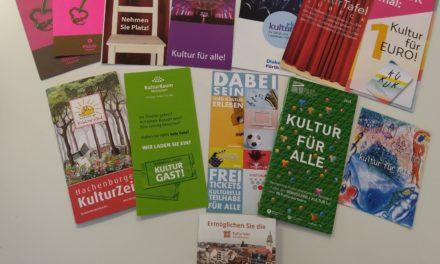 Kulturelle Teilhabe goes bundesweit!