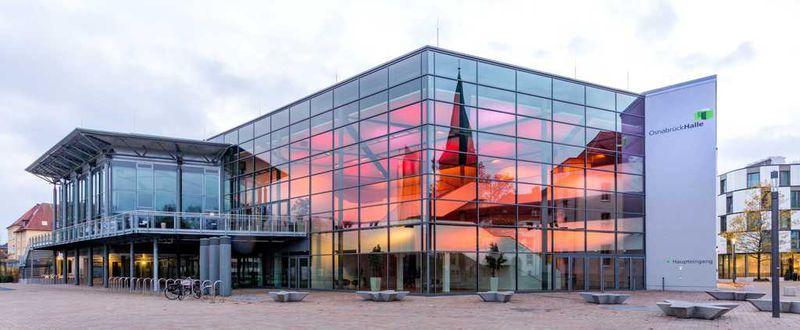 Neuer Kulturpartner: die OsnabrückHalle mit ihren Eigenveranstaltungen