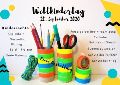 Bringen wir's ins rollen! | Weltkindertag 2020 – Mitmachaktion